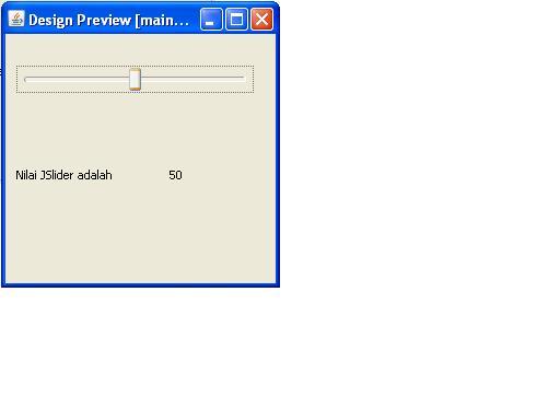 JSlider Preview
