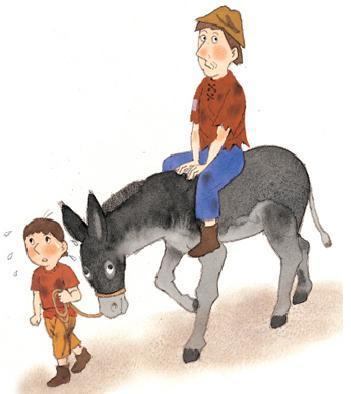 Kisah sang Keledai dan Tuannya